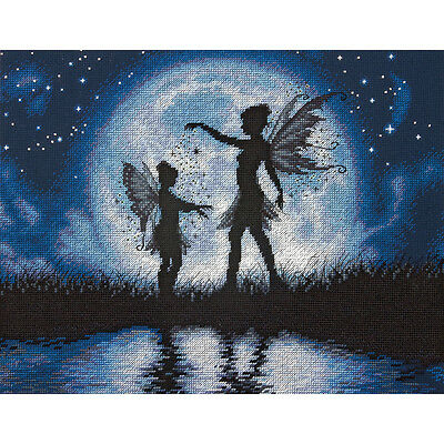 """Twilight Silhouette Counted Cross Stitch Kit-14""""X11"""""""