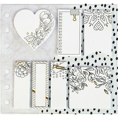 Prima - My Prima Planner - Coloring Sticky Notes - 7 Pads/20 Sheets Each