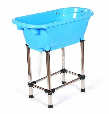 Pedigroom fibre glass fibreglass plastic dog pet cat grooming bath tub bathtub
