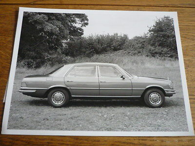 Mercedes Benz 280 Se  S Class W116 Press Photo, Side On