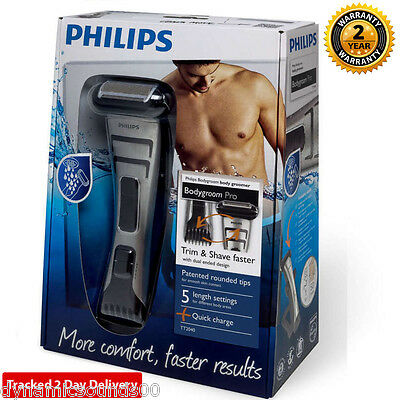 Philips TT2040 BodyGroom Ultimate 3D PRO Trimmer Shaver Cordless Rechargeable