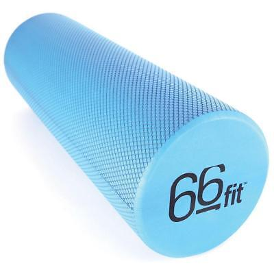 66fit EVA Foam Roller 15cm x 45cm - Physio Pilates Yoga Trigger Point Massage