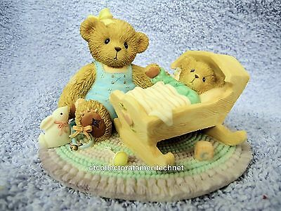 Cherished Teddies Carlton Margo and Baby 2003  NIB