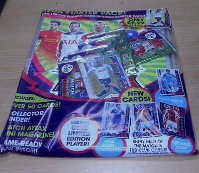 Topps MEGA Match Attax 2016/17 Trading Cards Game Starter Pack: Binder + Limited