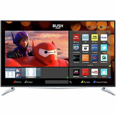 Bush 40 Inch 4K Ultra HD Freeview HD Smart WiFi LED TV - Silver -From Argos ebay
