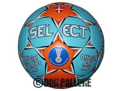 Select Ultimate Handball Wettspiel Ball Sport IHF Approved türkis/orange 1 - 3