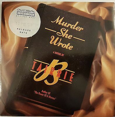"Tarrie B Murder She Wrote (PS) 7"" Vinyl Record"