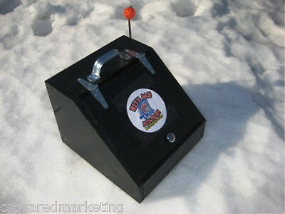 BITE ME Box Tip Ups Heated Tip Up Ice Fishing Gift