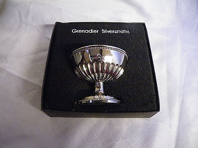 Vintage Silver Plated Rose/posy Bowl Boxed Grenadier Silversmiths
