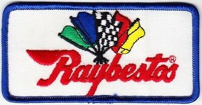 Raybestos on White Twill Patch
