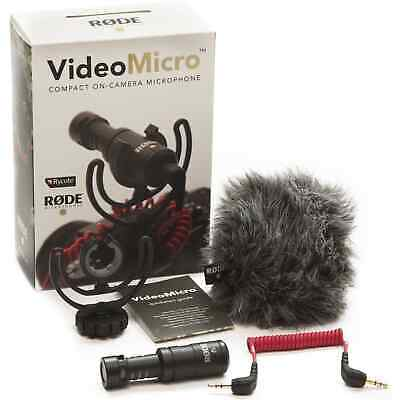 Rode VideoMicro On Camera Cardioid Condenser Microphone (VMICRO)