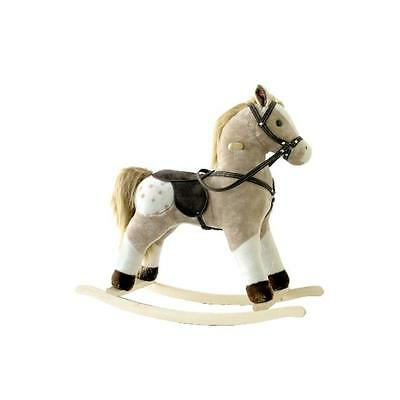 Alexander Taron MT513 Rocking Horse Brown and White Pinto with Sounds