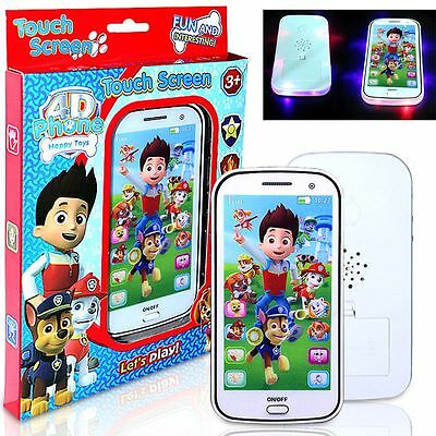 Baby Kids Educational Learning Study Music Song Flashing Mobile Phone Toys Gift
