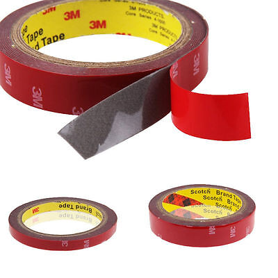 Hot 3M Strong Permanent Double Sided Super Sticky Tape Roll Versatile Adhesive