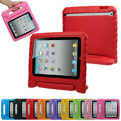 Lot Kids Childrens Shockproof Handle Stand Case Cover for iPad 2,3,4 ,Mini ,Pro