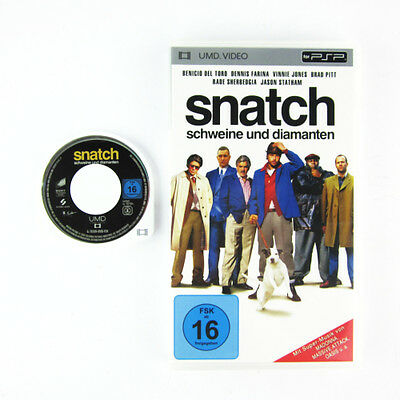 PSP UMD VIDEO : SNATCH - SCHWEINE UND DIAMANTEN in OVP Playstation Portable Film