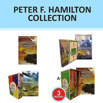 A Second Chance at Eden Collection By Peter F.Hamilton Gift Wrapped Set New