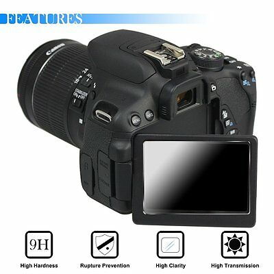 9H Tempered Glass Screen Protector Film For Canon Eos 700D 750D 760D T5i T6i T6S