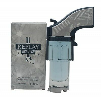 Replay Relover Eau De Toilette 50Ml Spray - Men's For Him. New. Free Shipping
