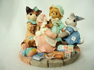 Cherished Teddies Circle of Love 1999 Syndicated Cat Excl NIB