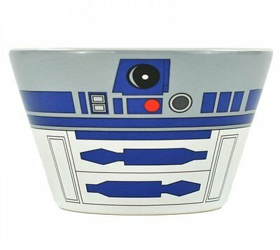 STAR WARS R2D2 Droid CEREAL BOWL Retro Soup BREAKFAST Dish Ceramic