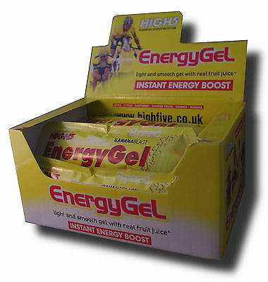 High 5 Energy Gel Fives Running Pick Mix Flavours n quantity 2, 6,12, or 20 Gels
