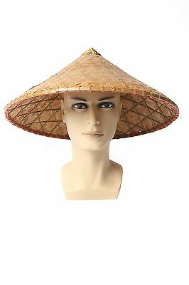 Hat Straw Bamboo China Vietnam Japanese Asia Chinese Rice farmer Fischer DH004
