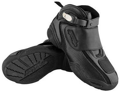 Speed & Strength Moment of Truth Motorcycle Street Riding Boots Black