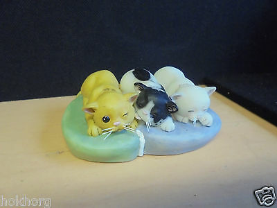 "Robert Harrop Perfect Pets Ornament "" Sonny , Suki & Snowy "" Cats Rspca"
