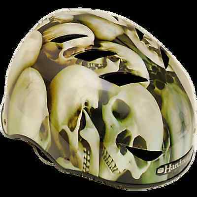 HardnutZ Skate Helmet - ABS Helmet for Board, Ski & Bike Gear - Skullduggery