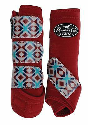 Professional's Choice VenTECH Elite Sports Medicine Boots 4 Pk Red Tribal $20off
