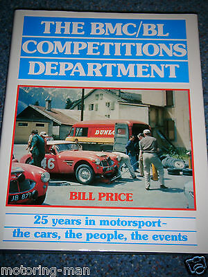 Bmc Competitions Department Austin A40 Tr7 Tr8 Austin Healey 3000 Mille Miglia