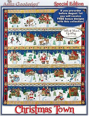 Anita Goodesign CHRISTMAS TOWN Mix & Match Special Edition 14AGSE - NEW SEALED