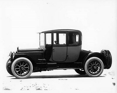 1916 Packard Twin Six Coupe ORIGINAL Factory Glass Negative oad9233