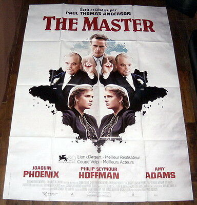 THE MASTER Paul Thomas Anderson Guru Sect Joaquin Phoenix LARGE French POSTER
