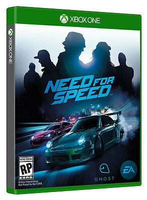 Need for Speed 2016 Xbox One Game Brand New Sealed