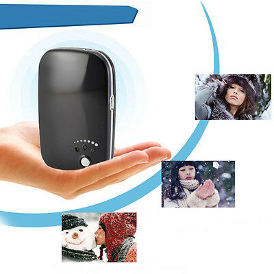USB Charger Pocket Portable Electric Hand Warmer Heater Rechargeable Led Light