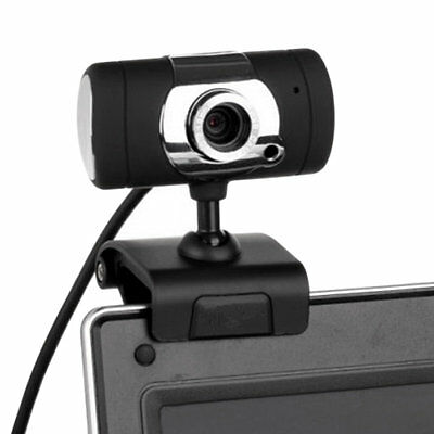 HD Webcam Camera USB 2.0 50.0M With Microphone MIC For Computer PC A847 AUO