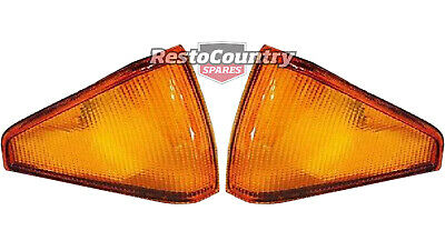 Ford XE Front Indicator Lens LEFT + RIGHT blinker