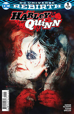 HARLEY QUINN #1, VARIANT, New, First Print, DC REBIRTH (2016)
