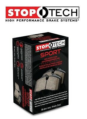 Stoptech 309.04350 High Performance Sport Brake Pads Front Set