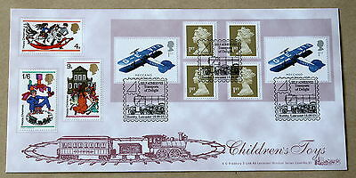 Transports Of Delight Self Adhesive B/let 2003 Bradbury Fdc Hornby Lancaster H/s
