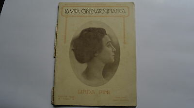 17/4/24- LA VITA CINEMATOGRAFICA - 1918 - Sammelerstück - Collector Item