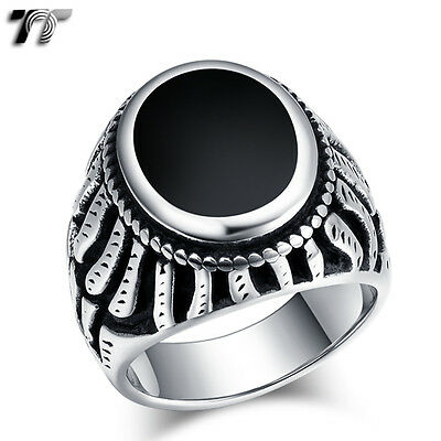High Quality TT 316L Stainless Steel Band Ring (RZ167) NEW
