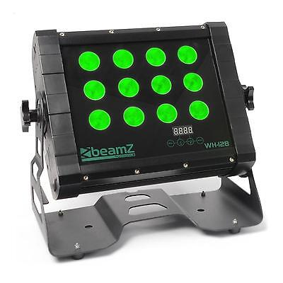 Beamz Wall Washer Quad Led Licht Effekt Leiste 3 Dmx Modi Dimmfunktion 12 X 8W