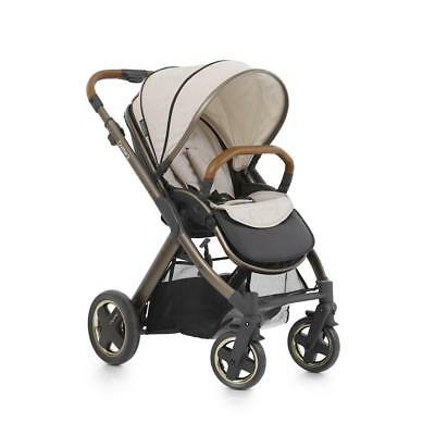BabyStyle Oyster 2 Pushchair (City Bronze) inc Footmuff, Changing Bag