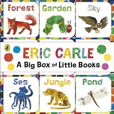 The World of Eric Carle: Big Box of Little Books (Board book), Ca. 9780141359458