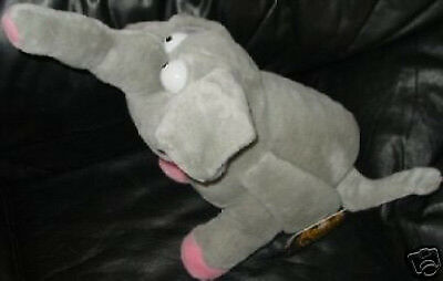 "MEANIES AT LARGE ""BART the ELEPHART"" Large 17"" PLUSH MWMT Elephant FUN SPOOF!"