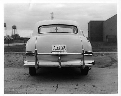 1949 Kaiser Flax Sedan ORIGINAL Factory Photo oad9595
