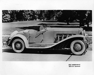 1932 Duesenberg ORIGINAL Factory Photo oad9705